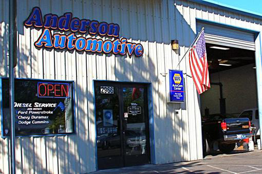 anderson automotive front
